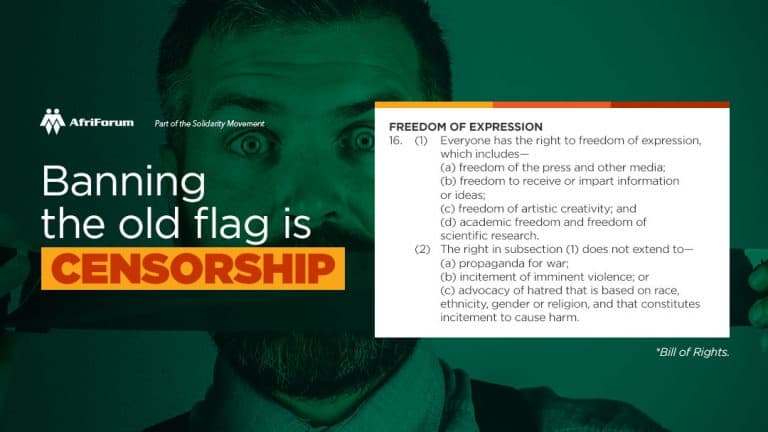 Banning the old flag is censorship