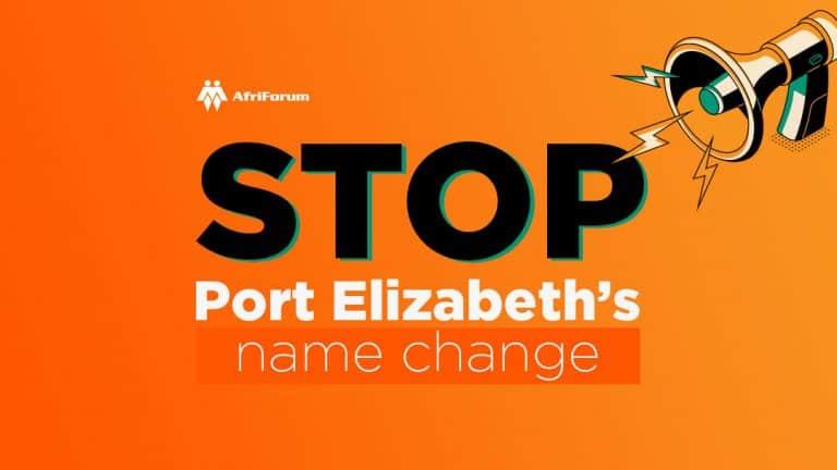 STOP Port Elizabeth's name change