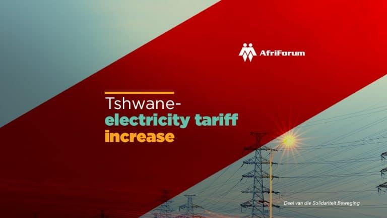 AfriForum gets cost order against Tshwane Metro over illegal tariff increases
