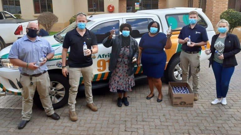 AfriForum distributes over 15000 bottles hand sanitiser