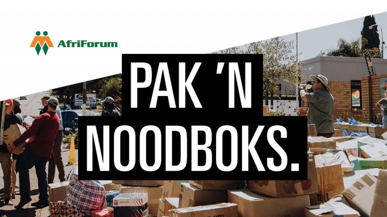 PAK 'N NOODBOKS