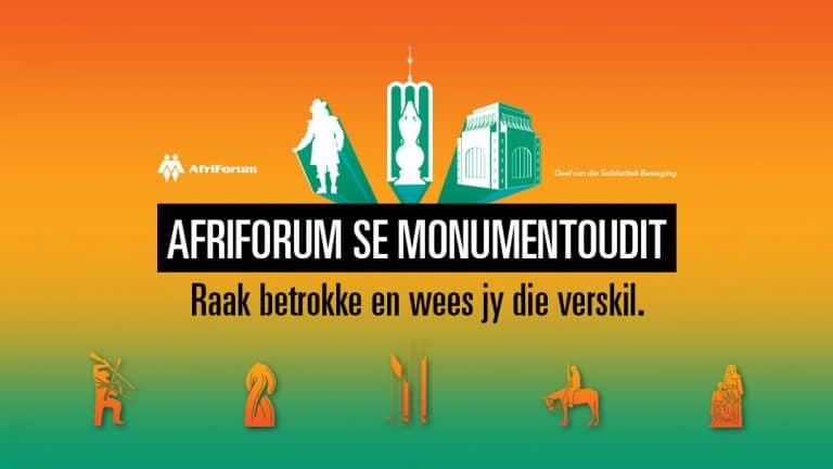 AFRIFORUM SKOP SY MONUMENTOUDIT IN MAART AF