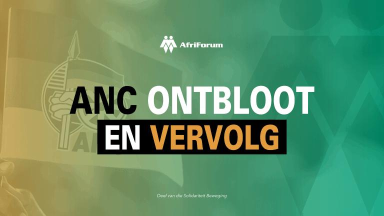 ANC ontbloot en vervolg