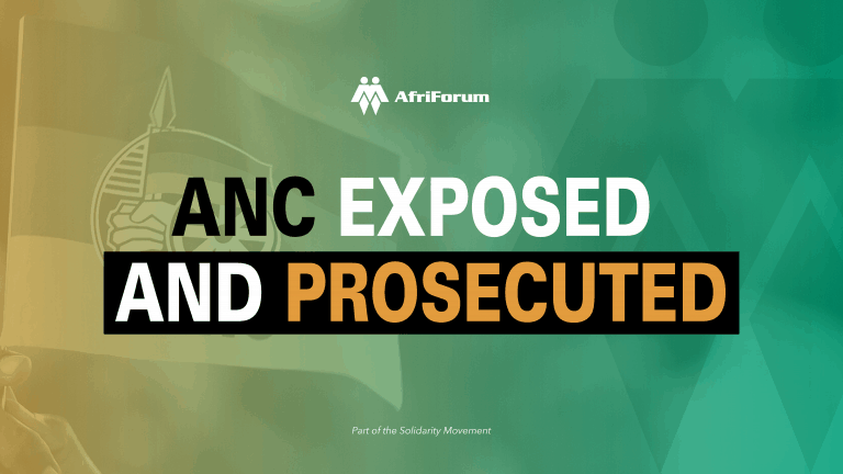 ANC exposed and prosecuted