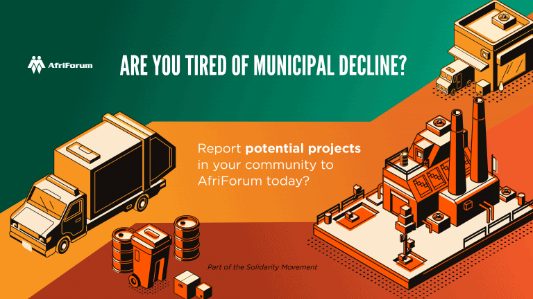 Are you tired of municipal decline?