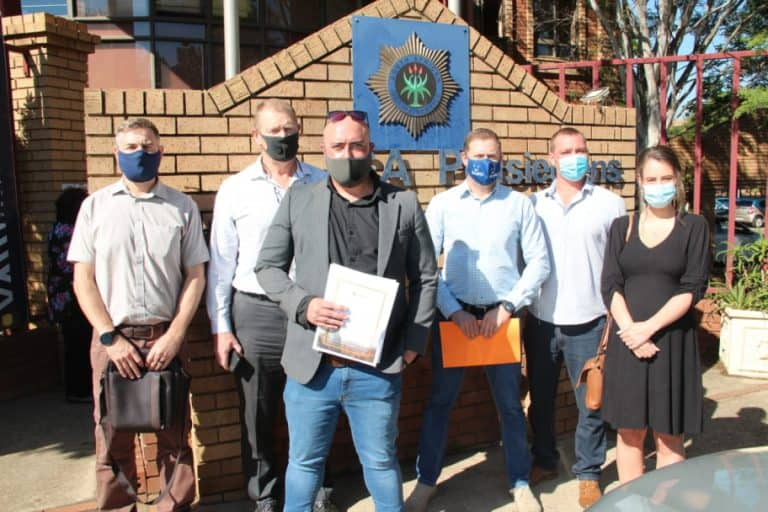 AFRIFORUM ASSISTS OWNER OF HENNIE'S WITH THEFT CHARGES AGAINST POLICE AFTER ALCOHOL DISAPPEARS