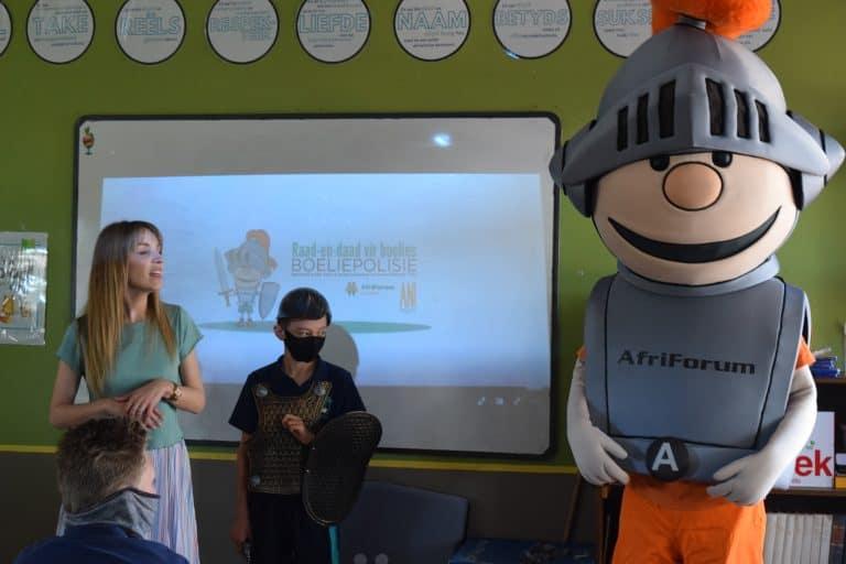 AfriForum se teenboelieveldtogspan besoek Centurion Christelike Laerskool