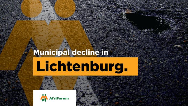 MUNICIPAL DECLINE IN LICHTENBURG