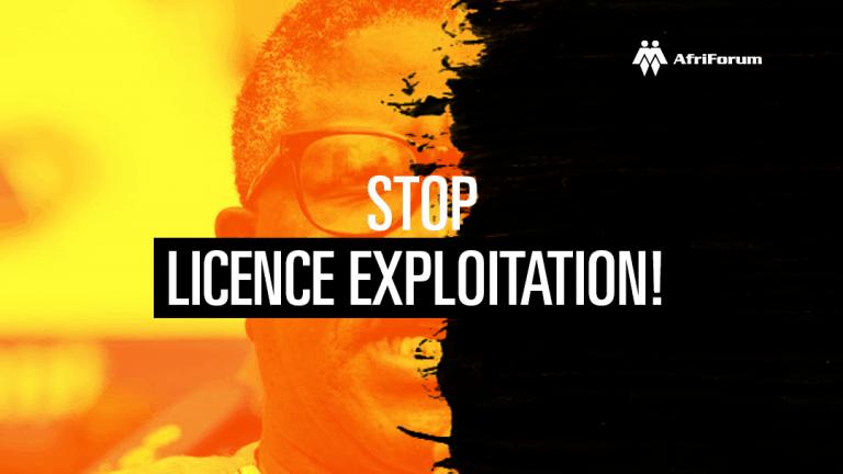 STOP LICENCE EXPLOITATION!