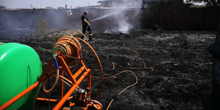 AfriForum se Pretoria-waterkar ingespan om brande te blus