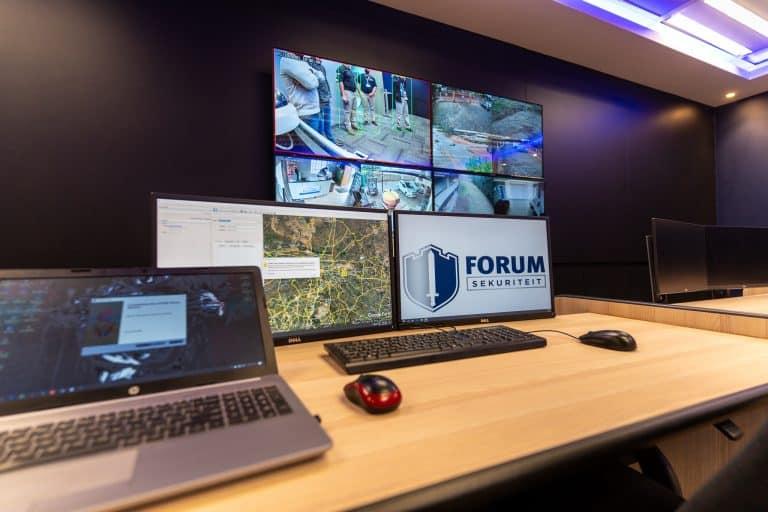 Nuwe Forum Sekuriteit-beheerkamer se deure amptelik geopen