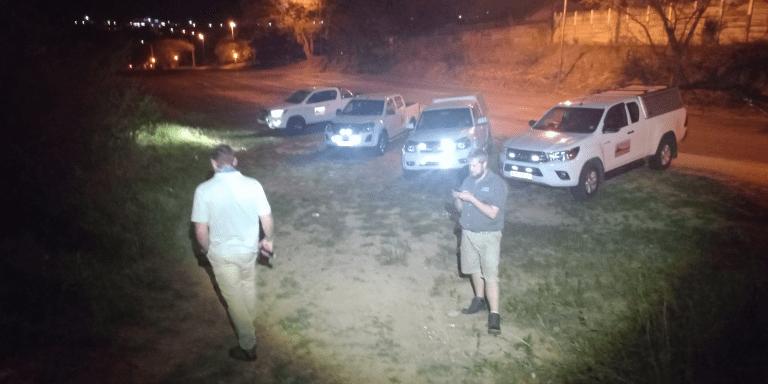 AfriForum-buurtwag patrolleer om Nelspruit te beveilig